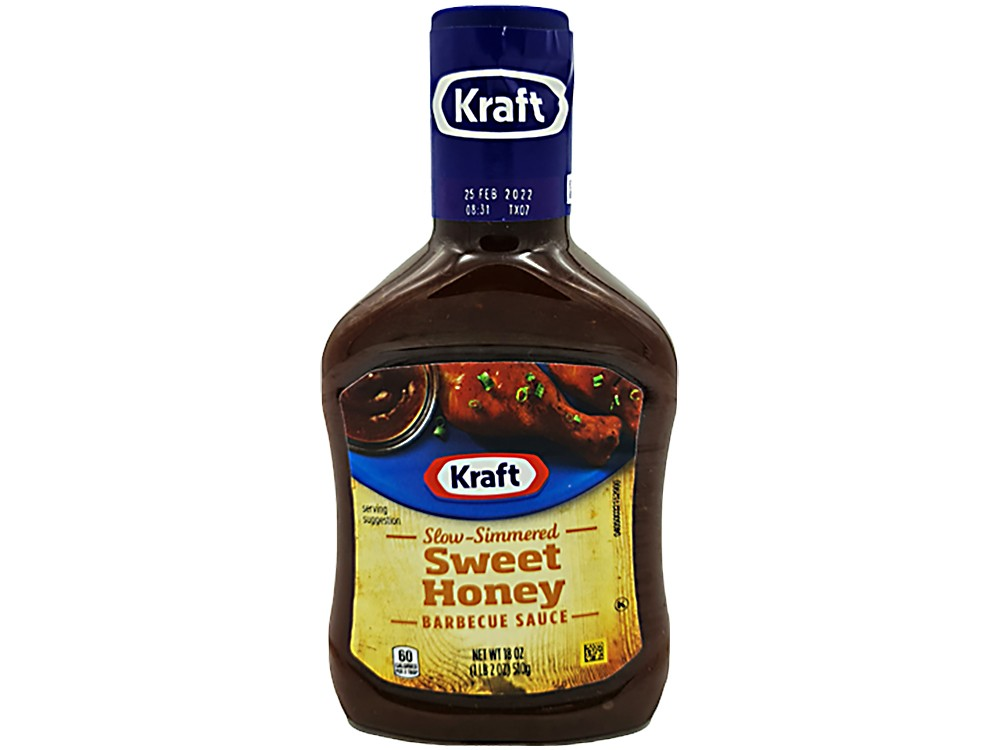 Kraft Sweet Honey Barbecue Sauce 510g